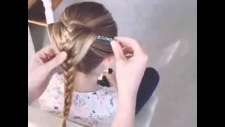 видео ПЛЕТЕНИЕ КОСИЧКИ - YouTube