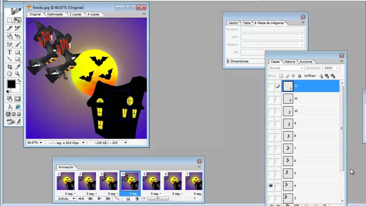 Cómo Crear Una Invitación Animada Para Halloween