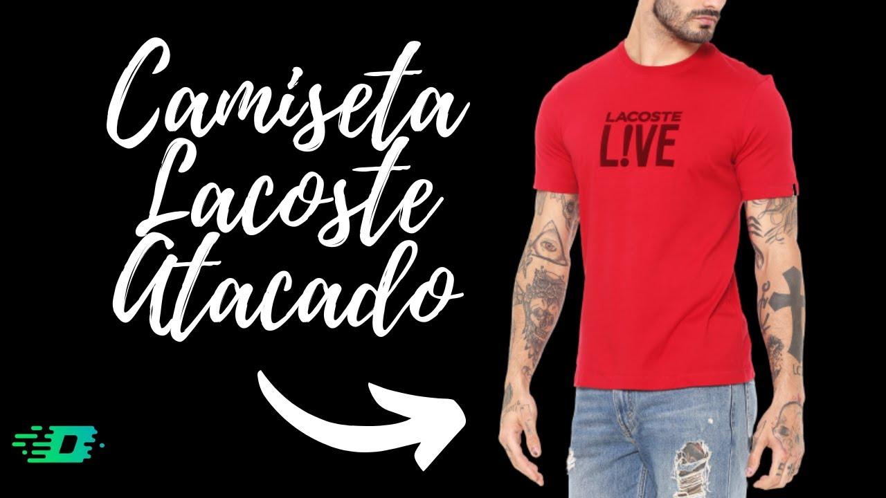 Camisetas Lacoste Live Atacado Loja Imperio Duarte Youtube