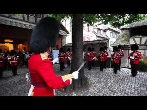 Basel Tattoo 2011: Grenadier Guards Überraschungsauftritt
