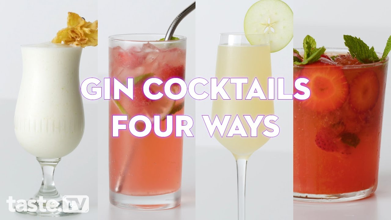 4 Easy Gin Cocktails You Need To Try Taste Com Au Youtube