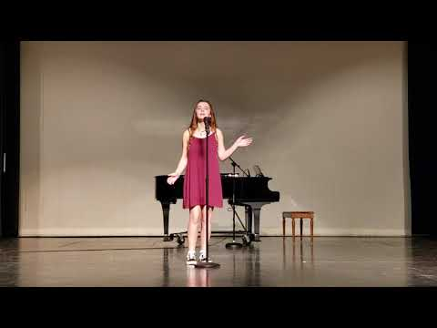Raylea @ Willard High School Talent Show 2018