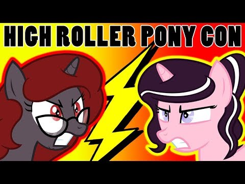 TheLostNarrator Vs Magpiepony! - High Roller Pony Con 2018 Announcement