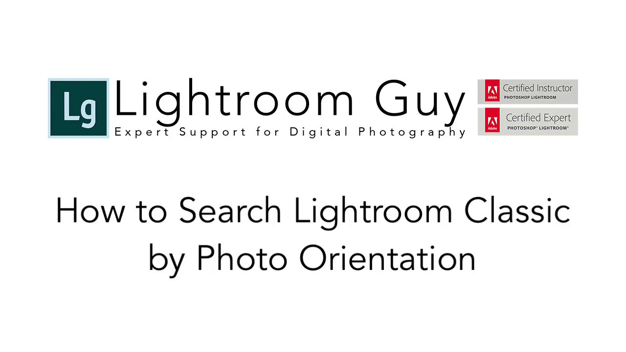 Adobe Lightroom Classic Archives | Lightroom Guy