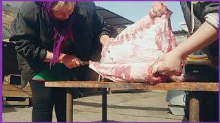Разделка Свинной Туши