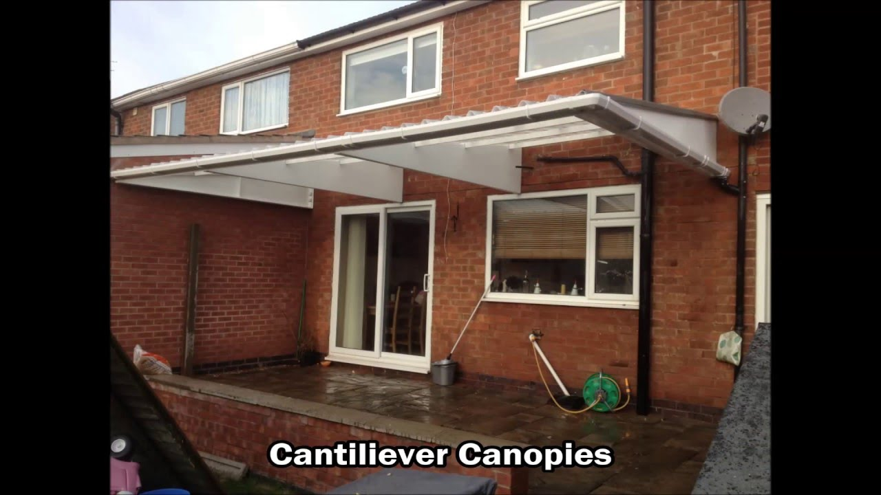 Cantilever carports and canopies & Cantilever carports and canopies - YouTube