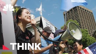 How This Young Hong Kong Student Is Fighting Back Against China | Think | NBC News