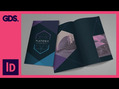 Add Images & texture to brochure design in InDesign Ep10/15