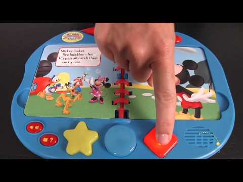 Mickey Mouse Clubhouse My First Story Reader And 4-Book Library From Publications International