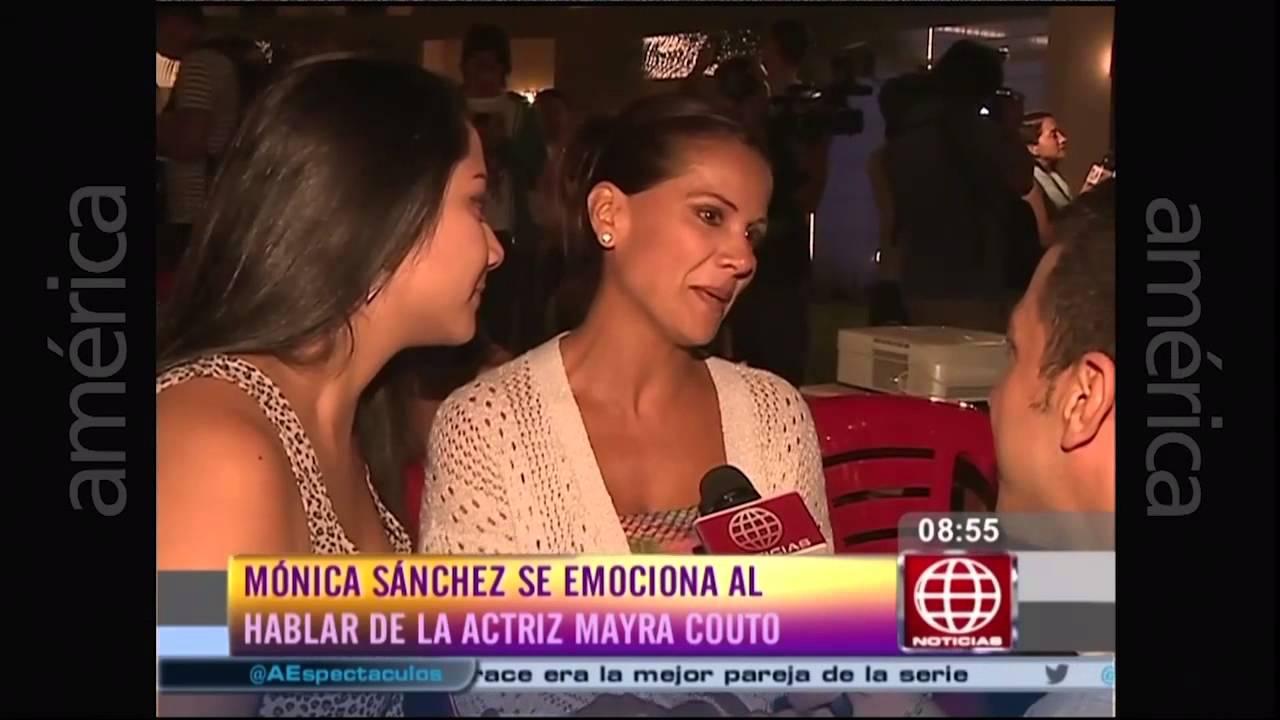 Mayra couto se despidi de la serie al fondo hay sitio for Noticias sobre espectaculos