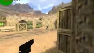 Cs 1.6 Стрельба из пистолетов. (видео-обучение)