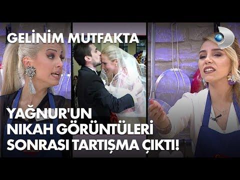 Yağnur'un nikah görüntüleri sonrası mutfakta tartışma çıktı! Gelinim Mutfakta 199. Bölüm
