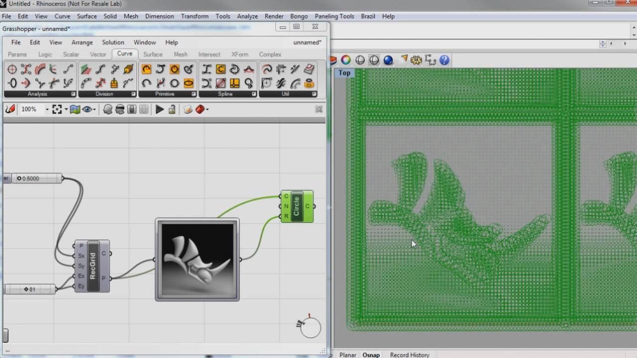 Grasshopper S Image Sampler Youtube