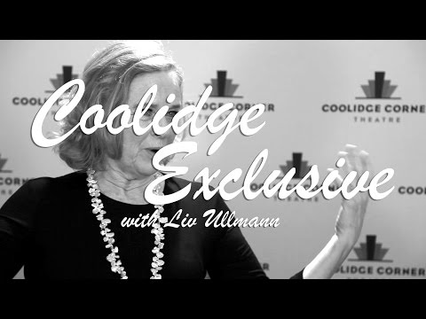 Coolidge Exclusive Interview with Liv Ullmann