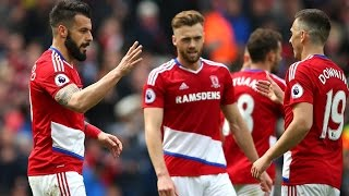 Video Gol Pertandingan Middlesbrough vs Manchester City