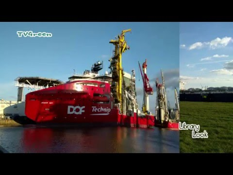 Rotterdam Seaport: Pipelay and SubSea Construction Vessel