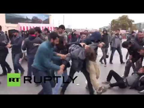 Turkey: Violent arrests in Istanbul as protesters try to joi