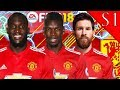 MESSI SIGNS! FIFA 18: MANCHESTER UNITED CAREER MODE S1 #1