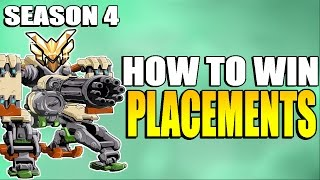 Overwatch | Season 4 Placement Matches WINNING Tricks and Strategies - How To Rank Up In Competitive