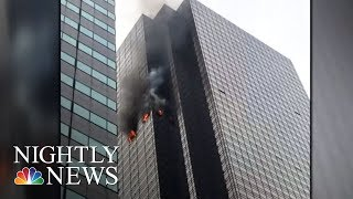 Fire Breaks Out In Trump Tower, Killing One | NBC Nightly News