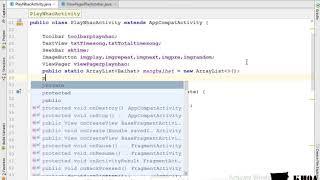 Bài 57: Custom viewpager hiển thị lên màn hình play các bài hát