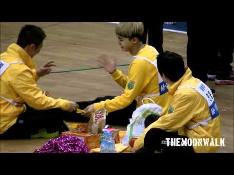 120108 MBC SPORT IDOL-MBLAQ SEUNGHO & MIR GAME