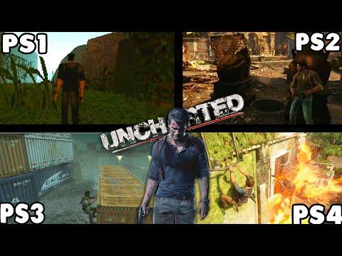 UNCHARTED PS1 VS PS2 VS PS3 VS PS4