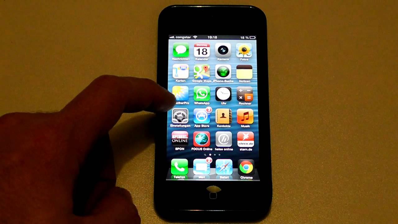 Iphone 5 Email Ausgang Löschen