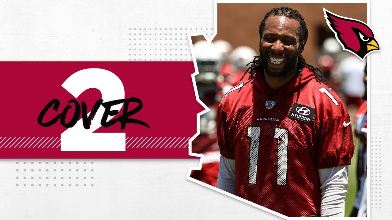 hot sale online fdf09 f7208 Larry Fitzgerald Impressed With Young WRs, Darius Philon Conversation |  Arizona Cardinals Cover 2