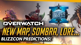 Overwatch | New Map, Sombra & Lore - Blizzcon Predictions