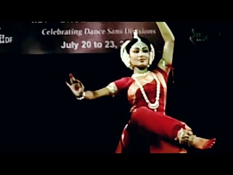 Odissi 'Naba Druga' by Meera Dash in India International Dance Festival-2017 Bhubaneswar.