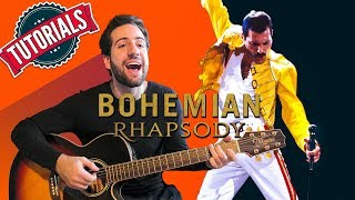 Tutorial FACILE di Chitarra: Bohemian Rhapsody - Queen 🎸