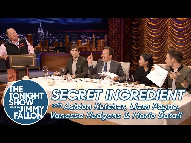 Secret Ingredient with Ashton Kutcher, Liam Payne, Vanessa Hudgens and Mario Batali