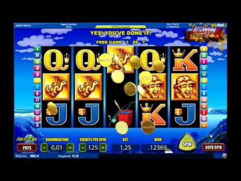 Let 39 s go fishing slot 7 free spins extra wilds youtube for Let s go fishing xl
