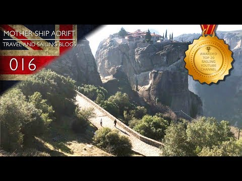 016: Kids Learn to Ski at a Perfect Family Ski Resort and Travel to Meteora in the Greek Mountains