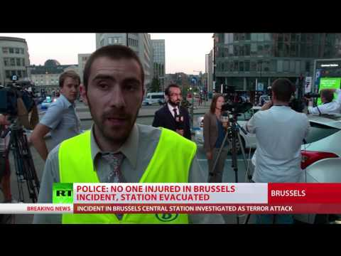 Explosion at Brussels Central Station was a foiled 'terrorist attack' - Belgian federal prosecutor