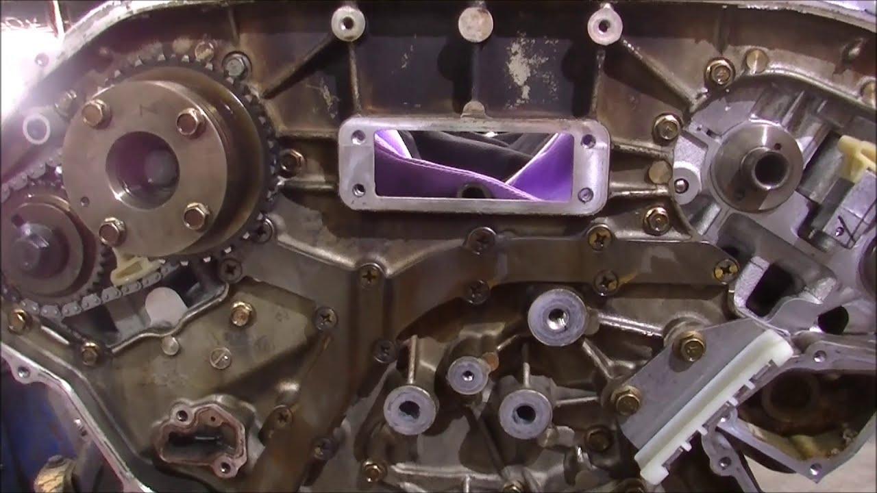 medium resolution of pathfinder 4 0 v6 timing chain install 6
