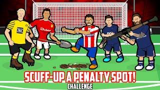 😏SCUFF-UP A PENALTY SṖOT CHALLENGE!😏 Dark Arts Part 2 Feat Suarez Ronaldo Messi (Frontmen 3.4)