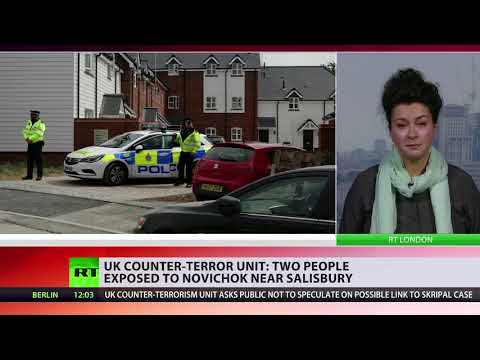 UK counter-terror unit: Two people exposed to Novichok near Salisbury