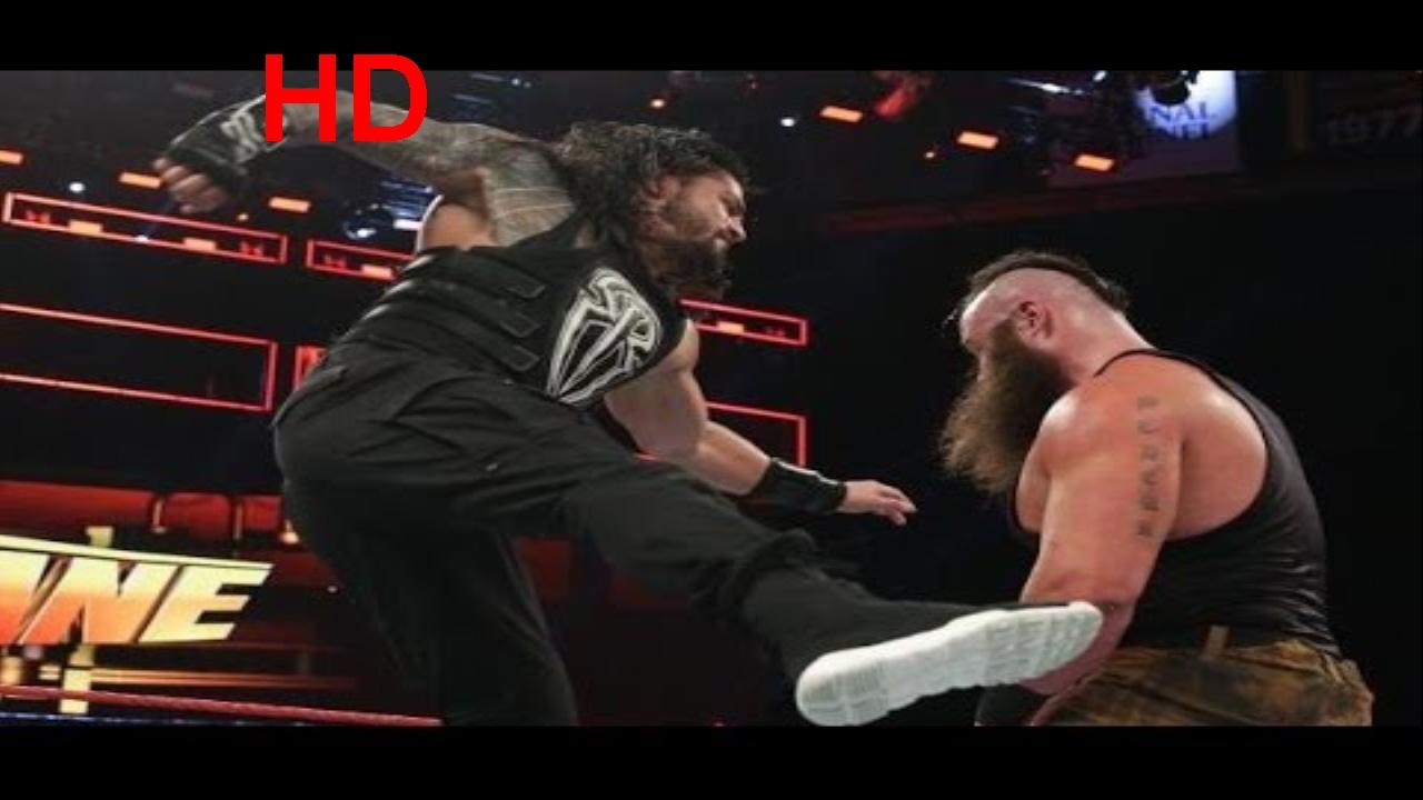 Download Roman Reigns def. Braun Strowman Full Match - WWE Fastlane 2017 5th March 2017 Full Show