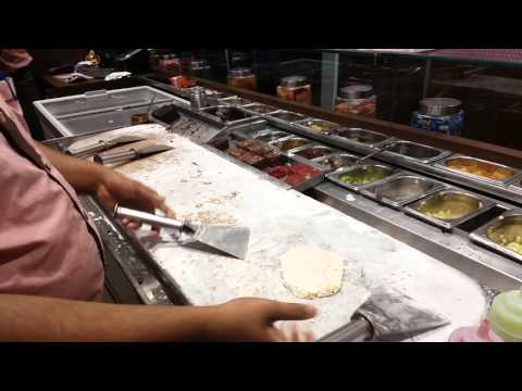 Watch a Cold Stone Creamery Ice Cream get made