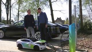 World's first IOTA charging station by ElaadNL
