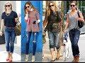 Celebrity jeans style