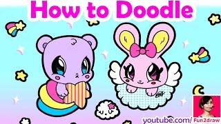 How to Draw | Easy Kawaii Doodle Art