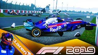 F1 2019 КАРЬЕРА - АВАРИЯ НА СКОРОСТИ 300 КМ\Ч+ #80