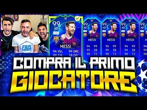 LIONEL MESSI 99!!!!!!!! COMPRA IL PRIMO GIOCATORE su FIFA 19 w/Ohm, T4tino23 |