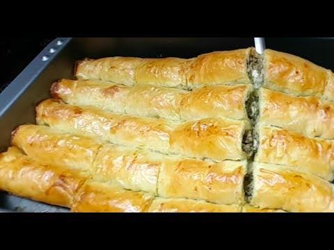 recette-de-borek-turc-ssans-friture-très-facile.-بوراك-بدون-قلي