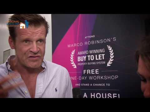 Marco Robinson @ National Landlord Investment Show London UK 2016