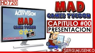 Vídeo Mad Games Tycoon