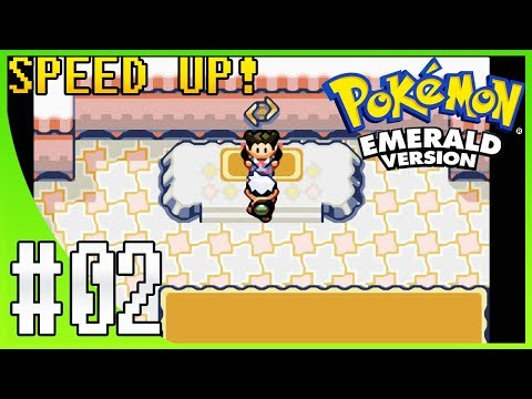Pokemon Emerald Walkthrough Part 2: Rustboro City & Gym Leader Roxanne (SPEED UP!)